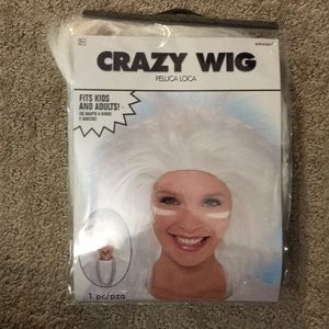 Other - Crazy white wig